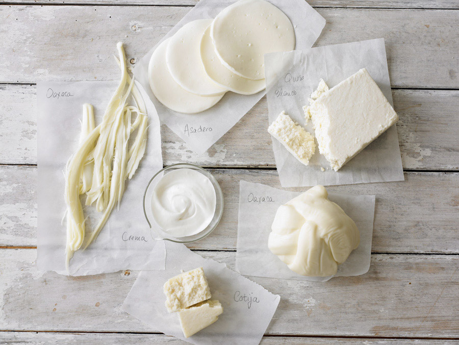 Robyn Valarik San Francisco Based Food & Drink Stylist - Queso, fresco, crema, Mexican-cheese, still-life, food photography